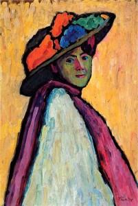 Габриэла Мюнтер - Портрет Марианны Веревкиной, 1909