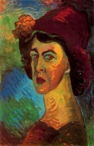 Марианна Веревкина - aвтопортрет, 1910