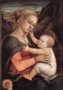 """Филиппо Липпи - """"Мадонна с младенцем"""", 1460-е"""