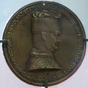 Пизанелло - медаль с портретом Филиппо Мария Висконти