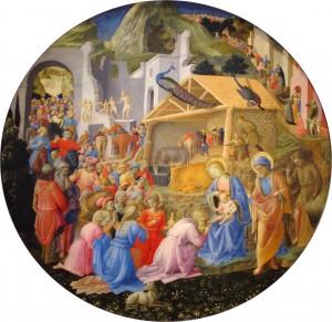 """Филиппо Липпи - """"Поклонение волхвов"""", 1445"""