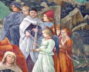 Фрагмент росписи собора в Прато