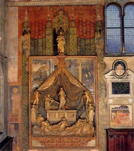 Пизанелло - надгробие Бренцони в церкви Сан-Фремо