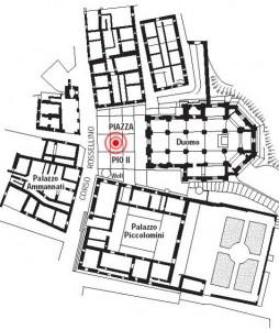 План города Пьенца