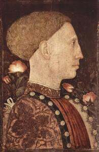 Пизанелло – портрет Лионелло д'Эсте