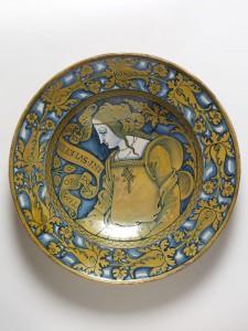 Блюдо, ок. 1520