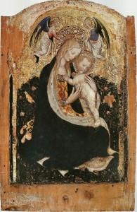 "Пизанелло - ""Мадонна с куропатками"", 1420"