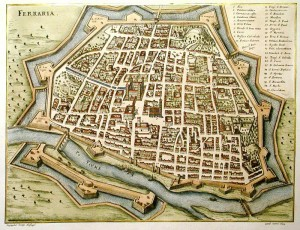 Карта Феррары