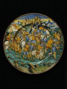 "Бальдассаре Манара - ""Битва римлян"""