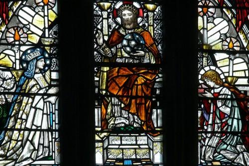 Кристофер Уолл - витраж в Глостерском соборе