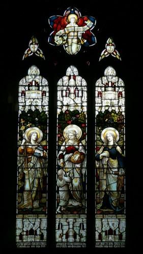 """Хитон, Батлер энд Бэйн"""" - """"Вера, Надежда и Благотворительность"""", витраж в соборе Св.Марии в Стевертоне"""