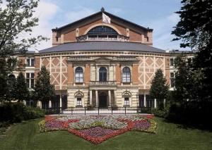 Байройтский фестивальный театр, арх. Готфрид Земпер, 1872-1876