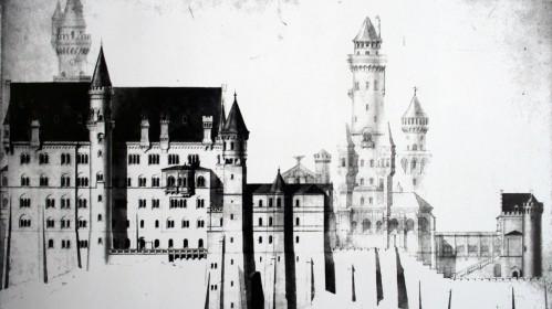 Генеральный проект замка Нойшванштайн