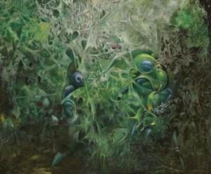 """Макс Эрнст - """"Осквернение весны"""", 1945 г., частное собрание"""