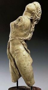 Римская копия скульптуры Скопаса «Менада», IV в. до. н.э., Государственные музеи Берлина (Германия)