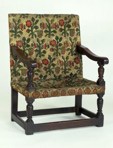 Кресло. Англия, дуб, шерсть, 1590