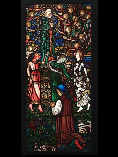 """Н. Уэстлэйк - """"Видение Беатриче"""", Музей Виктории и Альберта, Лондон. 1863"""