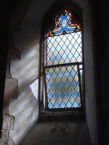 Уиллмент - витраж в церкви Св.Бартоломея в Гуднестоуне, нач. XIX века
