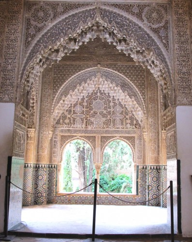 Зал Двух сестер, дворец Альгамбра, XIV век.