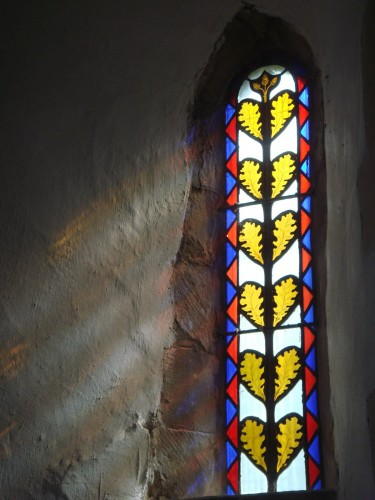 Томас Уиллмент - витраж в церкви Св. Бартоломея в Гуднестоуне.