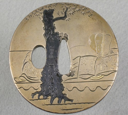 Ёкоя Соё II  - цуба с поэтом Росеем