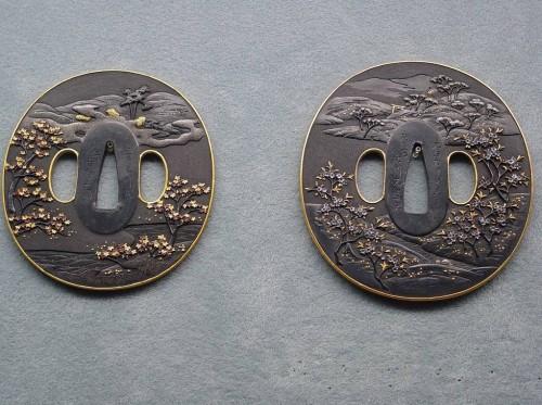 Парные цубы из Токийского Национального музея