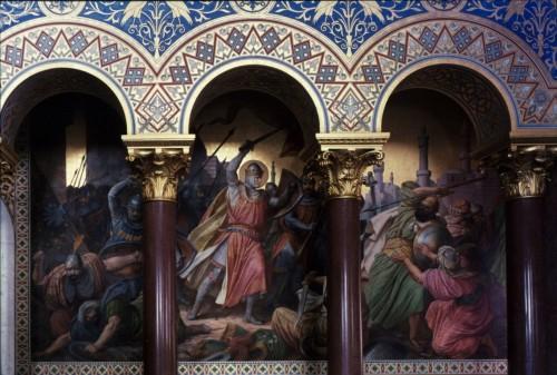 Тронный зал - росписи стен
