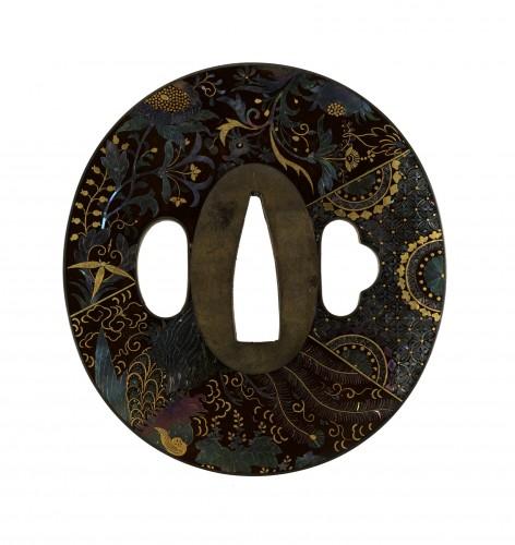 Цуба с имитацией орнамента на ткани, кон. XIX в.