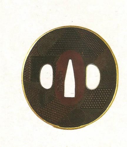 Цуба, декорированная различными вариантами нанако