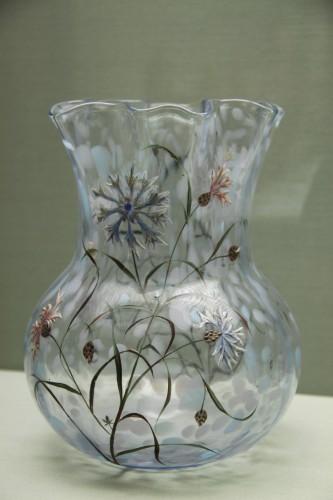 Эмиль Галле - ваза с васильками, 1879
