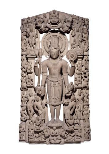 Вишну, центральная Индия, XIX век