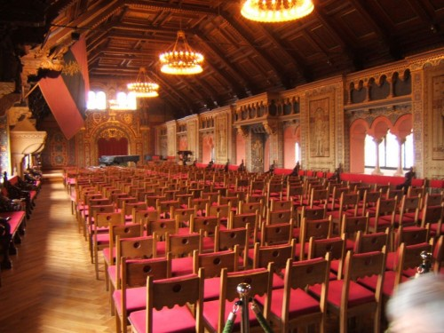 Зал певчих в Вартбурге