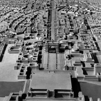 Альберт Шпеер - макет столицы мира Германии, 1939 г.