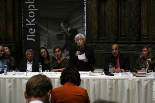 """Пресс-конференция """"Ле Корбюзье. Тайны творчества"""""""