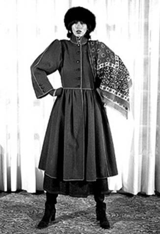 Yves Saint Laurent - коллекция 1976/77 «Русские балеты»