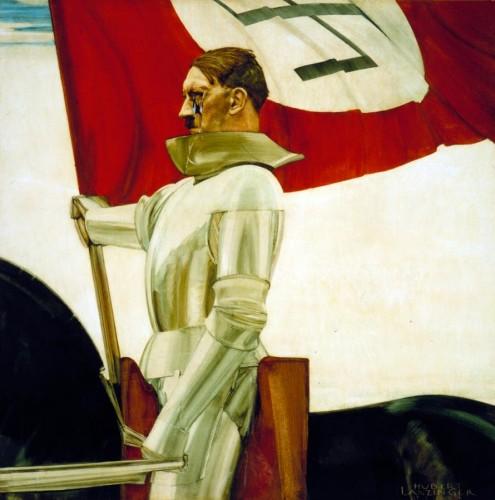 Хуберт Ланцингер - Гитлер-знаменосец, 1934-36