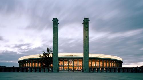 Вернер Марх - Стадион Олимпия в Берлине, 1934-36