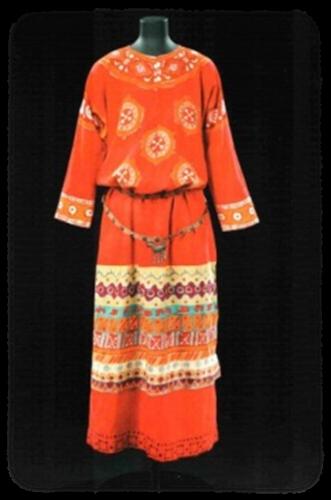 Н. Рерих - эскизы костюмов к балету «Весна Священная»