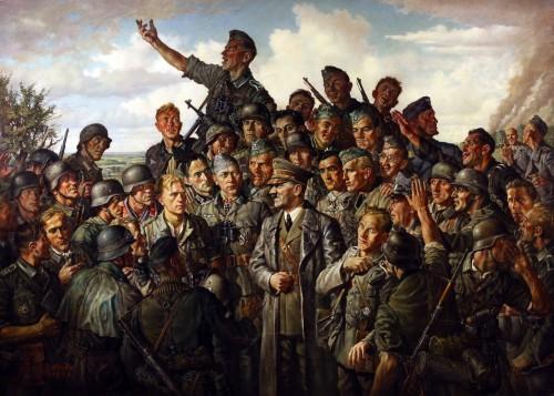"""Эмиль Шайбе - """"Гитлер на фронте"""""""