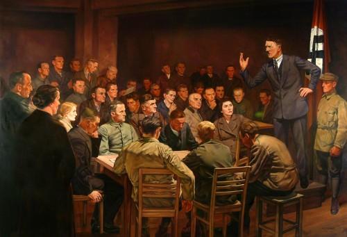 """Германн Отто Хойер - """"В начале было слово"""", 1937"""
