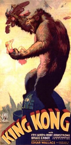 "Постер фильма ""Кинг-Конг"", 1933"