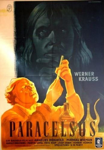 """Постер к фильму """"Парацельс"""", реж. Георг Вильгельм Пабст, 1943"""