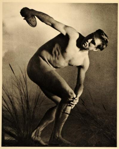 """Кадр из фильма """"Олимпия"""", 1937"""