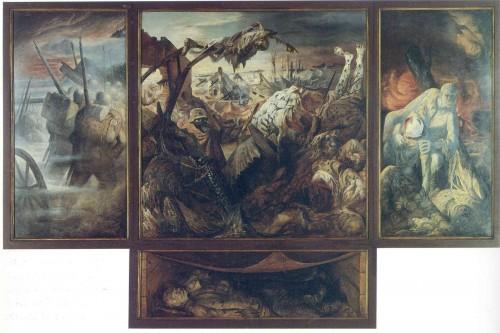 "Отто Дикс - ""Война"", 1932 г."