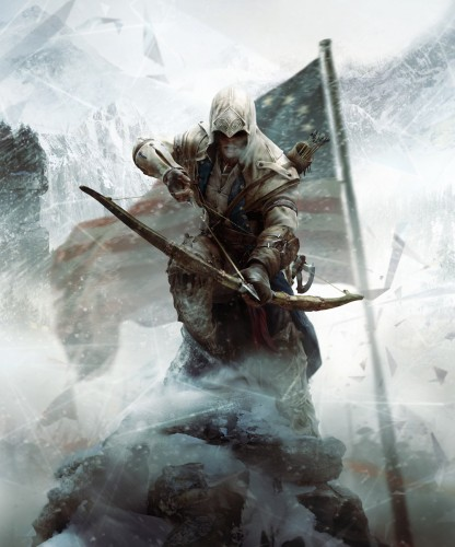 "Постер к игре ""Assassin's Creed 3"""