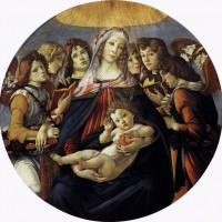 """Сандро Боттичелли - """"Мадонна делла Мелаграна"""", 1487"""