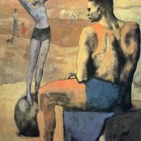 """Пабло Пикассо - """"Девочка на шаре"""", 1905"""