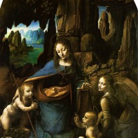 "Леонардо да Винчи - ""Мадонна в скалах"", 1483-86"