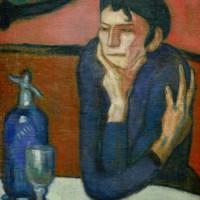 "Винсент ван Гог - ""Любительница абсента"", 1901"