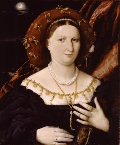 Лоренцо Лотто - портрет Лючины Брембати, 1518